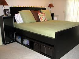 King Size Bed Frame with Drawers and Storage — Bed and Shower : King ...