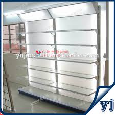 In Store Display Stands Fancy Metal Store Display Stand Racks With Glass Shelves View 49