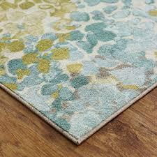aqua area rugs laude run myia radiance area rug reviews wayfair blue area rug 3x5