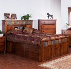 Sunny Designs Bedroom Furniture King Storage Bed W Slate By Sunny Designs Wolf And Gardiner