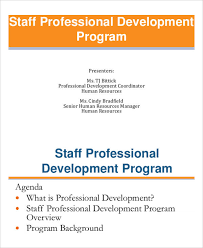 development plan sample premium templates staff professional development plan
