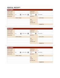 Rent Receipt Templates Free Download Invoice Simple