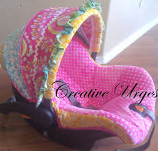 infant car seat cover tutorial help