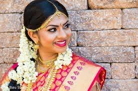 indian bridal hair and makeup in nj
