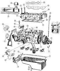 engine kent ford cortina 1600 parts morgan 4 4 morgan spares com kent ford cortina external engine diagram
