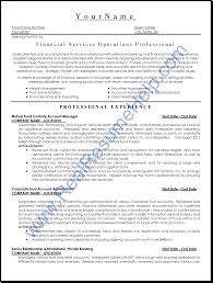 examples of resumes financial services operation professional financial services operation professional resume sample real throughout 85 wonderful professional looking resume