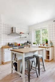 Modern Small Kitchen Islands Narrow Island Dimensions Cart Home