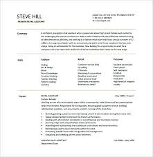 Fashion Resume Templates Mesmerizing Fashion Resume Templates Fashion Resume Template Retail Free Stylist