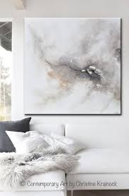 giclee print art abstract grey white painting coastal canvas prints modern neutral wall art on modern canvas wall art abstract with giclee print original art white grey abstract painting modern wall