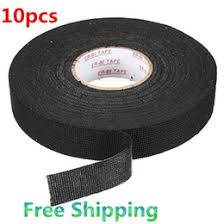 wire harness tape suppliers best wire harness tape manufacturers 10pcs lots new wiring loom harness adhesive cloth fabric tape cable loom 25mmx25m black shipping