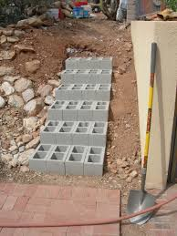 Cinder Block Stairs More Stairs Step By Step