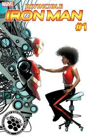 marvel s new female iron man riri williams now has her own alias marvel