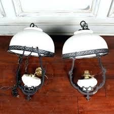 fascinating simon blake lamps pair of vintage metal and milk glass chandeliers interiors table floor lamp