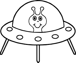 Small Picture Alien Spaceship Coloring Page Wecoloringpage