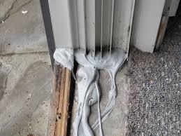 track sliding door repair the