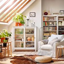 glass door cabinets living room. spacious and comfortable white fÄrlÖv armchair hemnes glass-door cabinet in a room glass door cabinets living