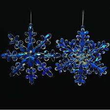 Новогоднее <b>украшение Crystal Deco</b> «<b>Снежинка</b> иридиевая». В ...