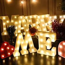 diy lighting wedding. Fine Lighting White DIY Letter Symbol Sign Heart Lighting LED Vintage Plastic Light  Wedding Christmas Party Holiday Intended Diy