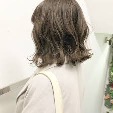 アンニュイほつれヘア ボブ パーマ 切りっぱなしlano By Hair ボブ