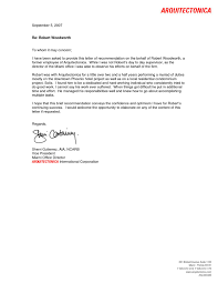 Reference Letter 1 By Robert Woodworth Issuu