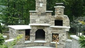 aztec allure pizza oven outdoor fireplace and of plaza wood fired brick deeco reviews amusing on
