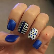 Thin blue line flag nails   Fun nail designs   Pinterest   Thin ...