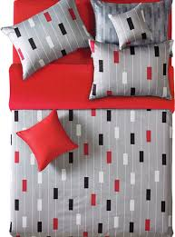 Reversible Gray And Red Stripe Duvet Cover Set - Duvet Covers And ... & Reversible Gray And Red Stripe Duvet Cover Set, Twin duvet-covers-and- Adamdwight.com