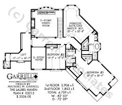 laurel haven house plan dual master house plans 1 5 Story House Plans With Loft laurel haven house plan 03215,2nd floor plan,french country house plans 1.5 Story House Plans with 3 Car Garage