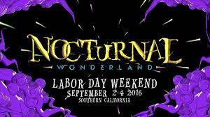 Nocturnal Wonderland 2016 Insomniac
