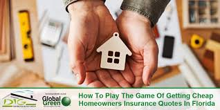 How To Play The Game Of Getting Cheap Homeowners Insurance Quotes In Stunning Homeowners Insurance Quotes Florida