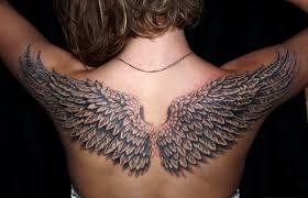 значение тату крылья на спине клуб татуировки фото тату значения