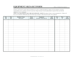 Sign Out Form Template Printable Sign Out Sheet In And Kw Open House Resident Template