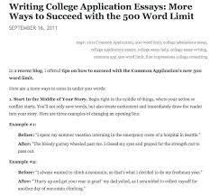 Nhs Example Essay Examples Of Good College Application Essays