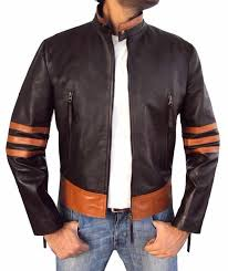 men s striped leather wolverine collar casual men s motorcycle leather jacket pu jacket men s shirt men coats cool jackets from xiuyi02 32 98 dhgate com