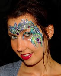 illusion s split cake face painting competition winners announced