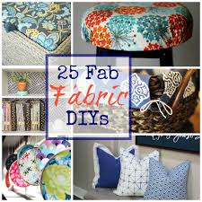 Diy Projects 25 Fabulous Fabric Diy Projects To Try The Happy Housie
