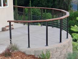 steel cable railing. Stainless Steel Cable Railings, Radius Railing, Railing Contractors Southern California