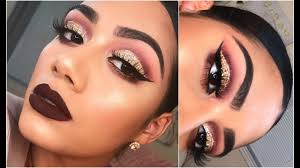 fall glam makeup tutorial 2017