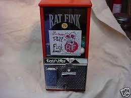 Vending Machine Ring Adorable Vintage Rat Fink Ring Vending Machine 48's 48 Cent 48