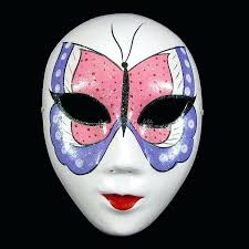 Mask Decorating Ideas Halloween Mask Decorating Ideas Buy Paper Pulp Butterfly Full Face 5