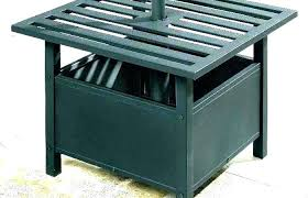 outdoor umbrella stand modern outdoor table outdoor umbrella stand table modern patio and furniture medium size