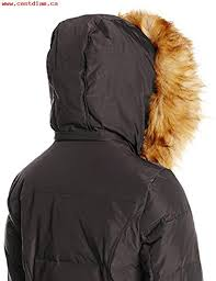 jones new york womens down coat with faux fur hood black larger image