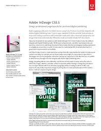 Adobe Design Standard Includes Adobe Indesign Cs5 5 V 7 5 Win Manualzz Com