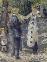 pierre auguste renoir the swing oil painting reion