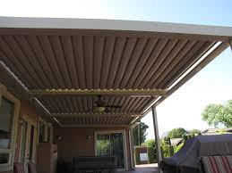 Patio Ideas Louevered Patio Cover With Wooden Ceiling Ideas And
