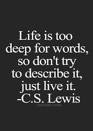 Just Live Life Quotes