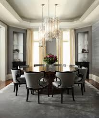 chicago hollywood regency chandelier with chrome chandeliers dining room transitional and custom table wingback chairs