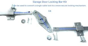 garage door lock installation garage door springs cables locks handles inside lock bar assembly remodel 4