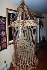 macrame hanging chair best chairs images on cords hammocks and of swing baby