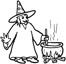 Small Picture Witch Coloring Pages of Halloween Coloring Pages